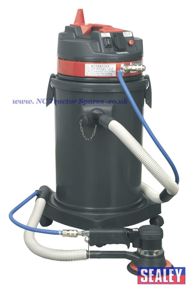 Dust-Free Vacuum System with MA150AS Air/Electric.